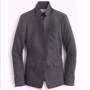 J. Crew Tall Regent Blazer Wool Flannel